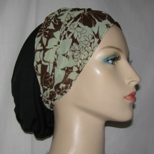 Celery Cinnamon Floral Head Band