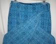Poly Blend Wrap Skirt